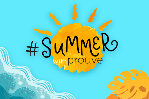 The second edition of the #summerwithprouve competition is starting